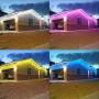 Projecteur LED extérieur 100W IP65 blanc