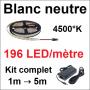 Fixation pour néon LED inclus