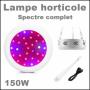 Lampe horticole LED 150w croissance et floraison